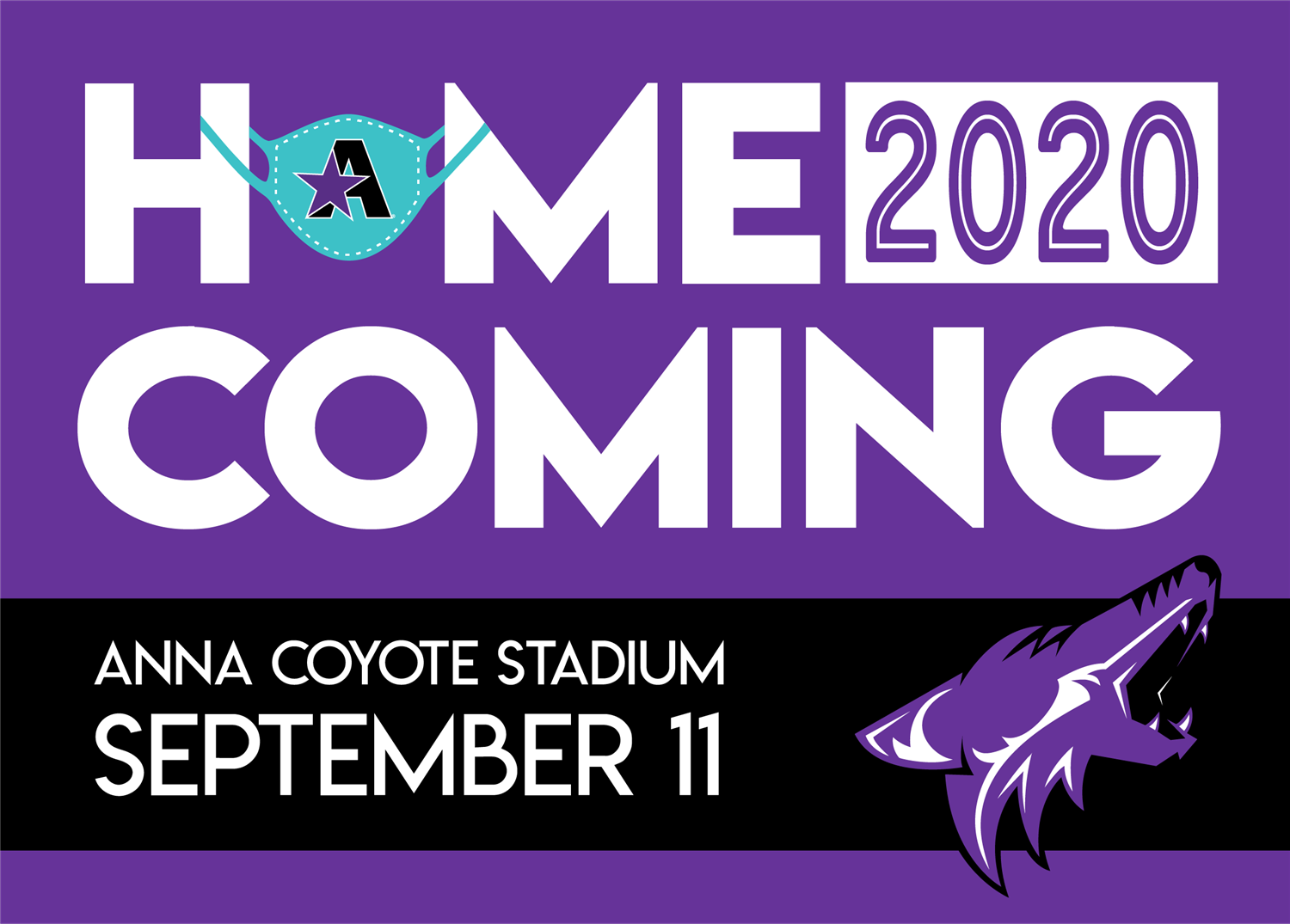 ANNA COYOTES HOMECOMING 2020 & TICKET INFORMATION